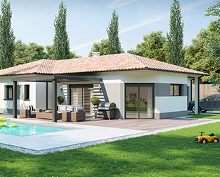 constructeur maison contemporaine villas club. Black Bedroom Furniture Sets. Home Design Ideas